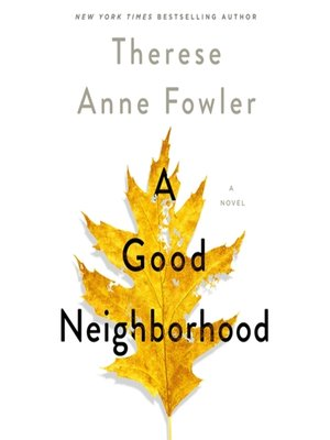 cover image of A Good Neighborhood